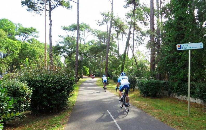 La Vélodyssée - De Seignosse à Capbreton