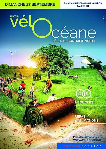 """Vélocéane 2015 : Parcours """"Famille 25"""""""