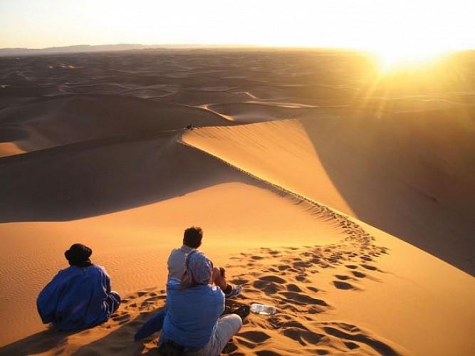 le desert ne se raconte pas, il se vit