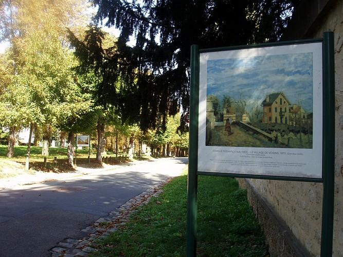 Le chemin des Impressionnistes, circuit Pissarro