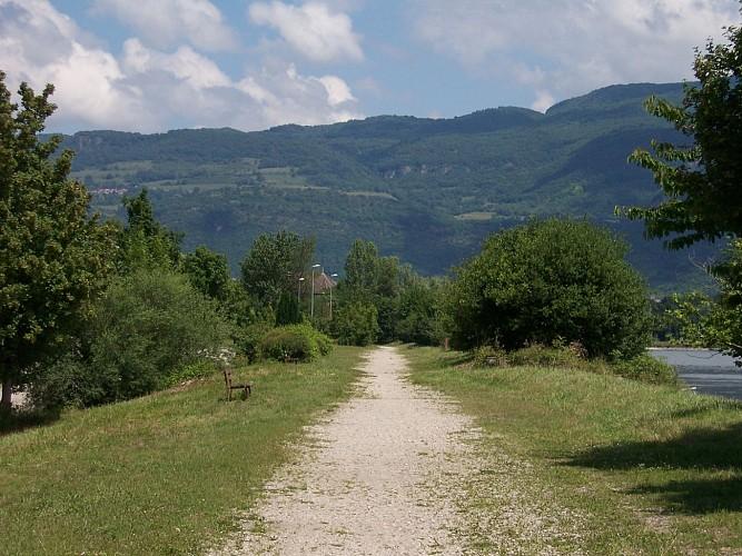 Sentier Bord de Rhône