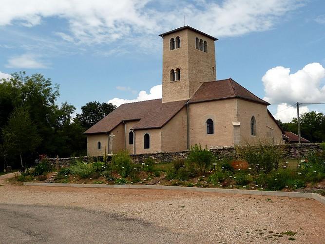 Eglise Amblagnieu 13ème siècle