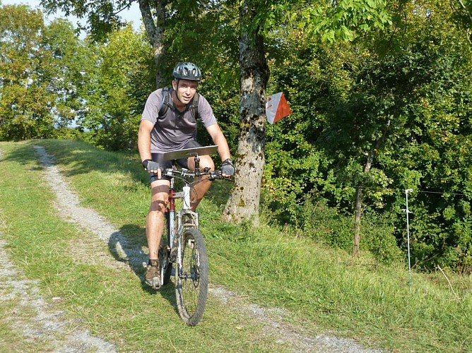 Mountain bike circuit n°4  - Le Champenet - Difficulty: red