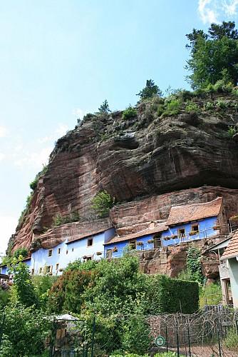 Le sentier des maisons des rochers