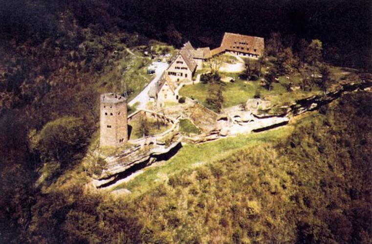 Le sentier du château du Hunebourg