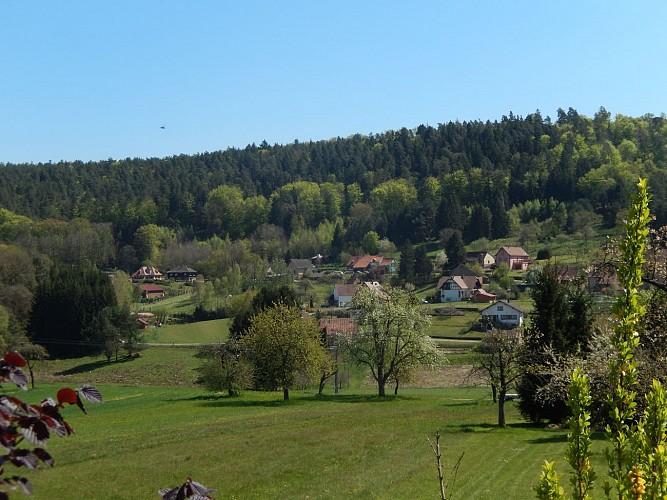 Le circuit du rocher de Zittersheim