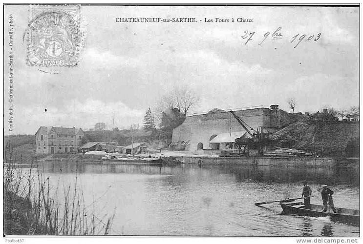 Châteauneuf-sur-Sarthe/ Juvardeil - Circuit Au Nord des Basses Vallées Angevines