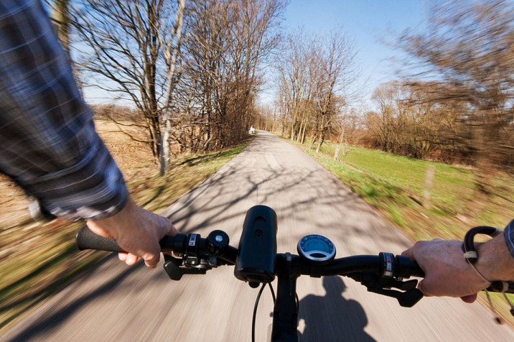 Boucle vélo promenade Montertelot Monterrein
