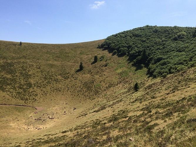 Circuit du Puy de Pariou - Jusqu'au cratère du volcan