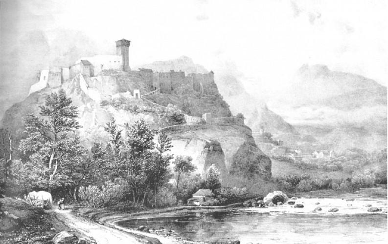Évocation de Lourdes au Moyen Âge