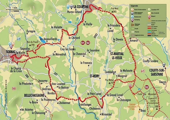 La Forêt de Mirambel (raccourci)