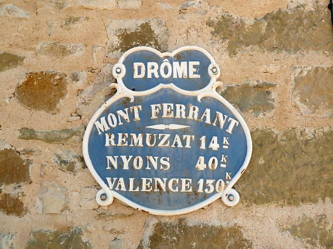 Autour de Montferrand (Drôme)