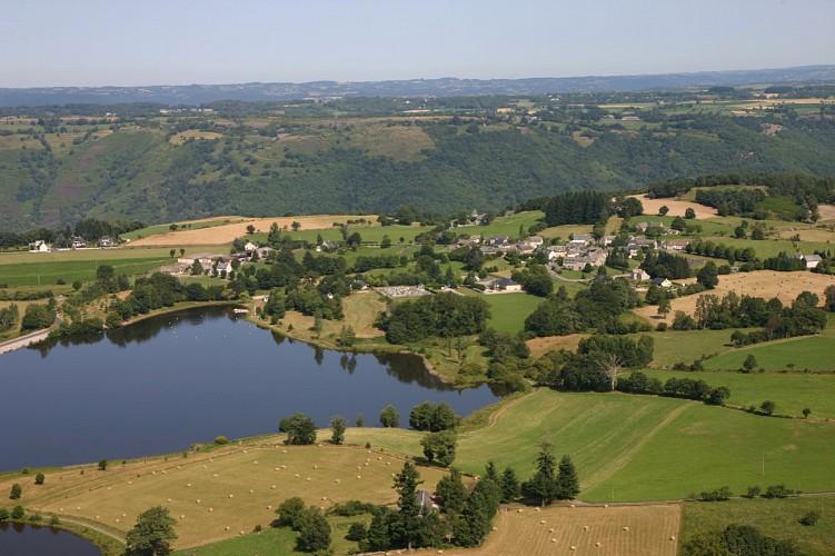 Le tour du lac de Saint-Gervais