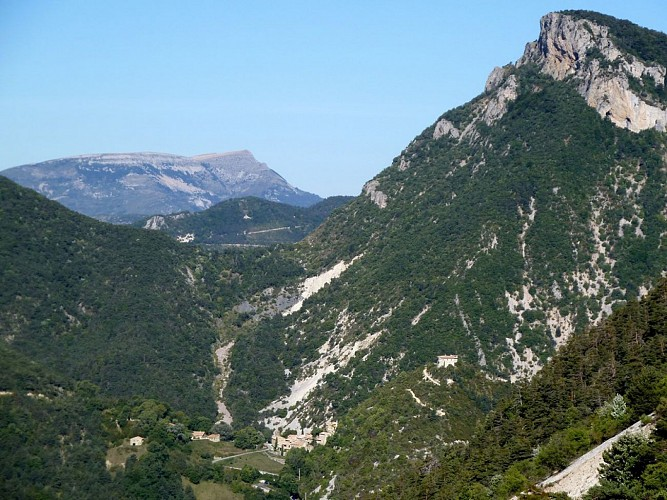 La montagne de Piégros (Drôme)