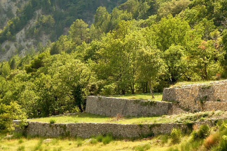 Chemin des Perdigons à Châteauneuf-de-Bordette