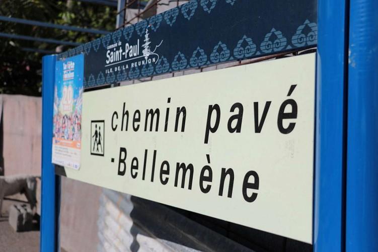 Chemin Pavé Bellemène