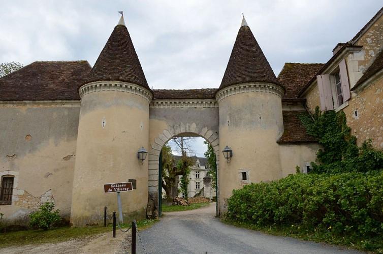 Le Porche du Château de Villeray