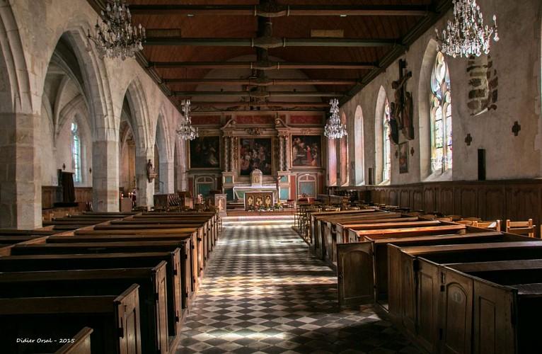 L'église de Tourouvre