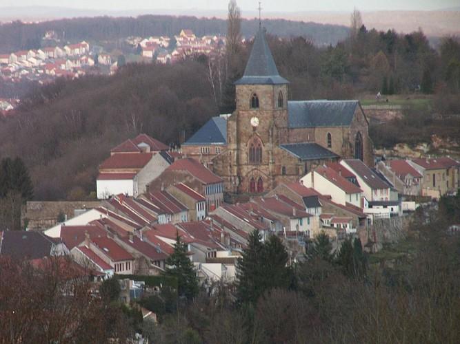 vue sur Hombourg centre