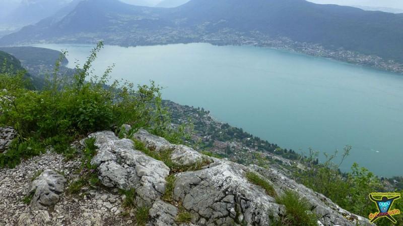 Mont Veyrier - Mont Baron - Circuit des crêtes du lac d'Annecy - 7km - 3h30 - Haute-Savoie (74)