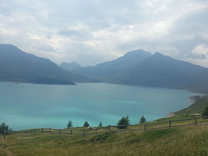 le lac du Mont Cenis