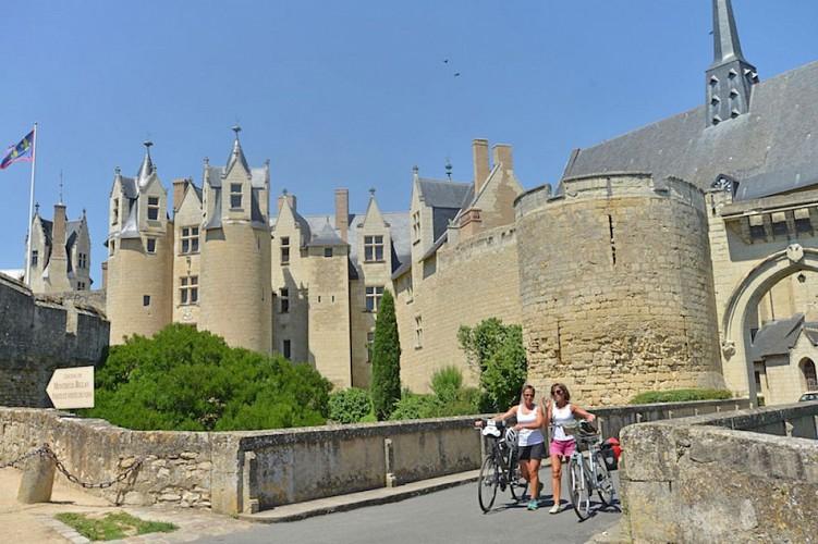 Montreuil-Bellay à vélo