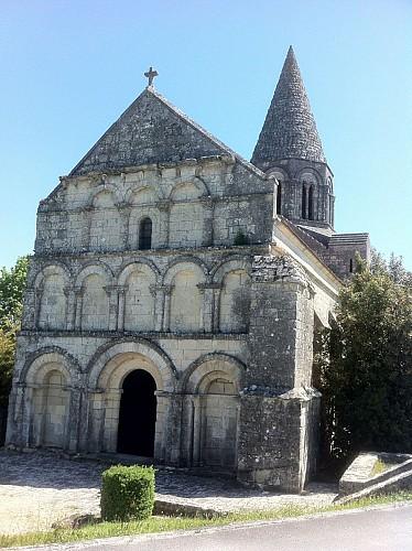 Eglise romane de Plassac