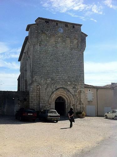 Eglise fortifiée de Charras