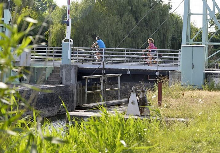 Randonnée vélo sur les ouvrages hydrauliques du Marais poitevin
