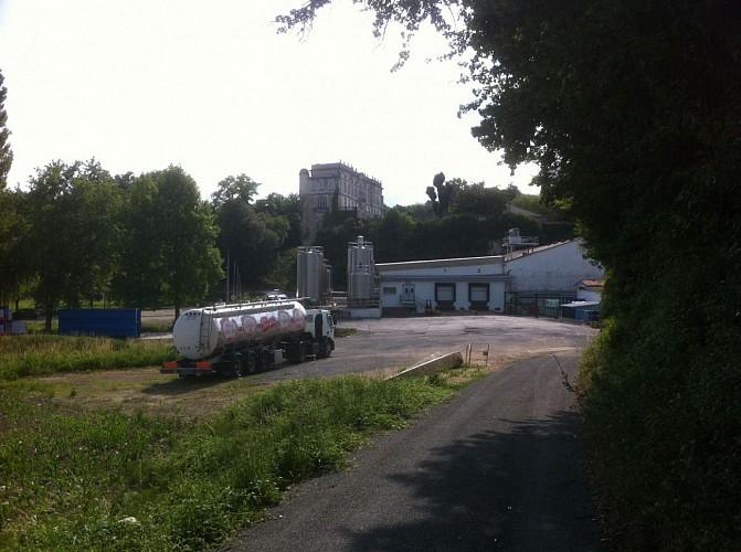 Château et laiterie de Claix