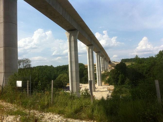 Viaduc LGV Tours-Bordeaux de Claix