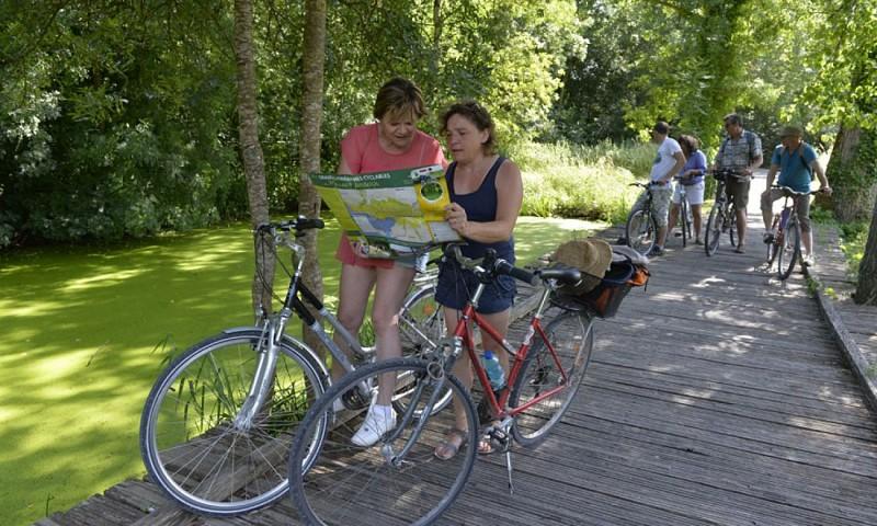 Balade vélo dans le Marais poitevin
