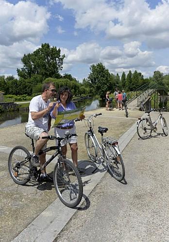 Randonnée vélo au port du Vanneau