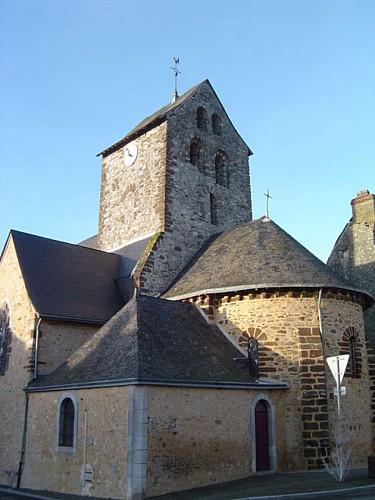 """Circuit n°2 """"Les deux églises"""" - Cossé-en-Champagne / Bannes"""