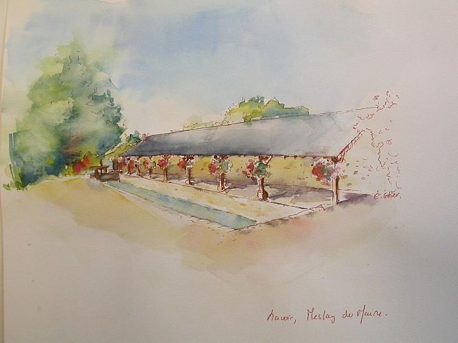 """Circuit n°19 - """"Le lavoir de Pont-Passe"""" - Meslay-du-Maine"""