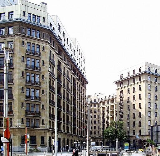 Découverte de l'architecture moderne dans le quartier Léopold