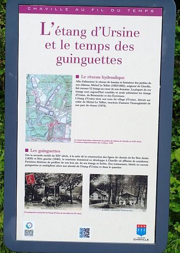 Etangs de Meudon et balcon sur Paris