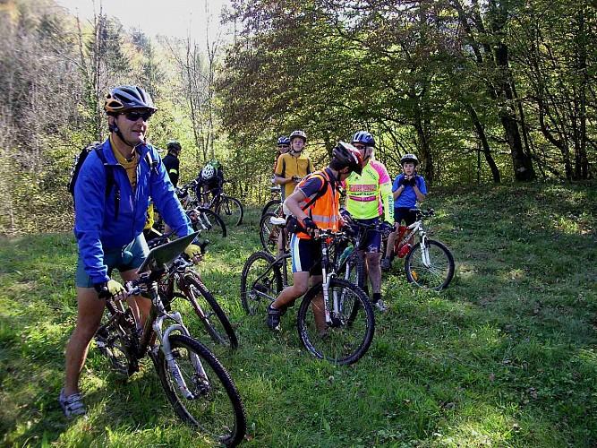 Circuit VTT n°56 - Les bois du Natoy - Gy - Vallée de l'Ognon