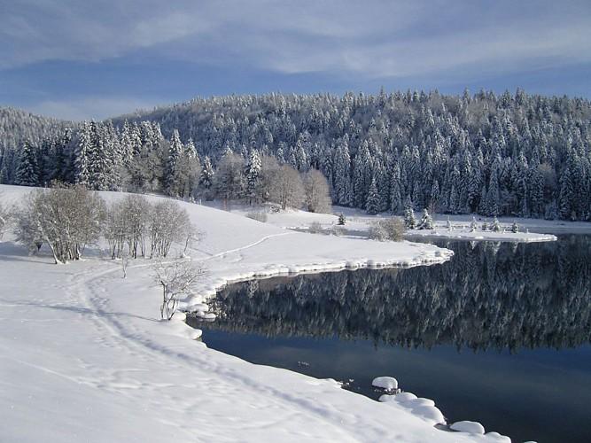 Itinéraire raquette du Lac Genin