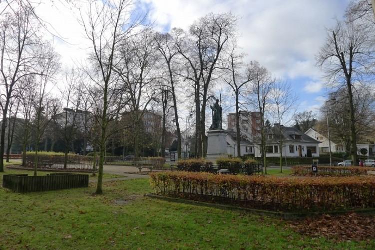 Balade audio-guidée dans le quartier des Boulevards à Verviers