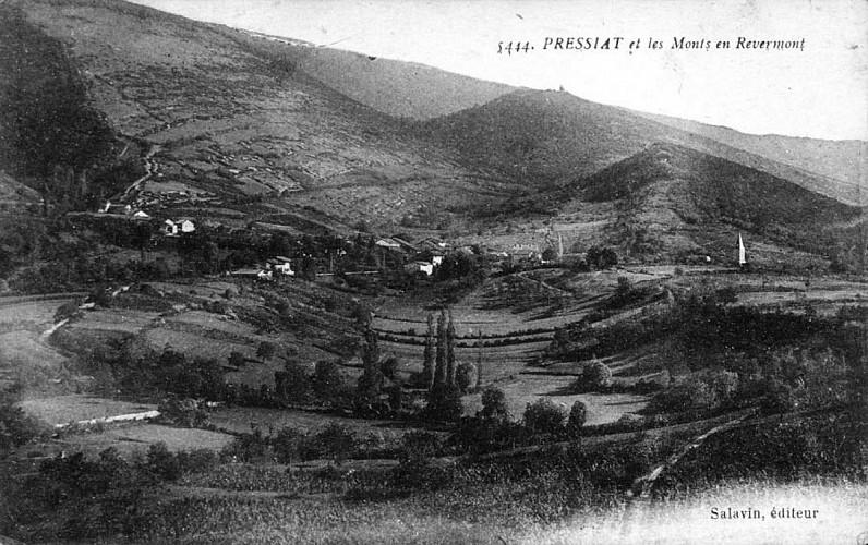 """Circuit n°10 """"Tour du Mont Myon"""" : Pressiat-Cuisiat"""