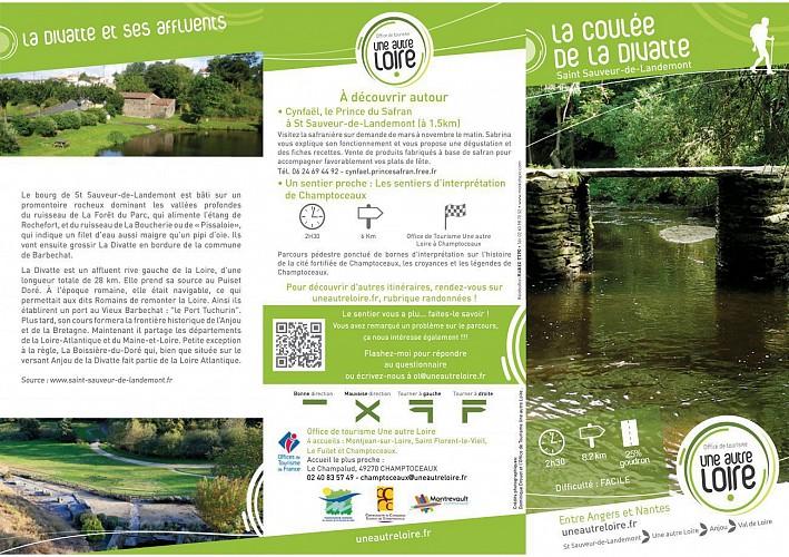 Randonnée Une autre Loire : La coulée de la Divatte à St Sauveur-de-Landemont