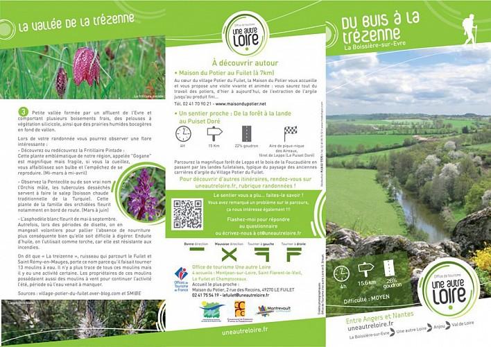Randonnée Une autre Loire : Du buis à la Trézenne à La Boissière-sur-Evre