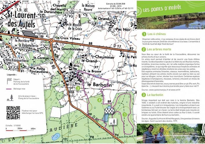 Randonnée Une autre Loire : Les 6 chênes à St Laurent-des-Autels