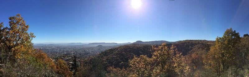 panorama coté Clermont Ferrand