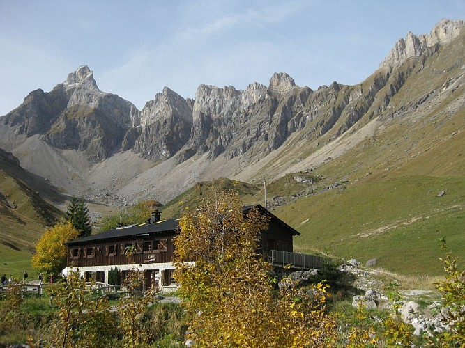Doran by the Gypaète trail