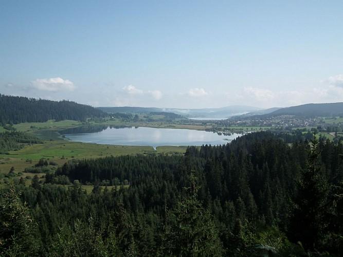 Belvédère des 2 lacs