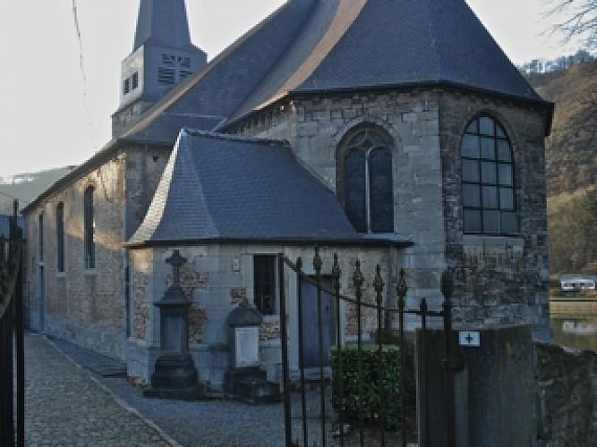 """Boucle à partir de Godinne vers Mont et le CHU par """"Li Fossé do Leup"""" à l'occasion de Rendez-Vous Sentiers du 23 octobre 2011"""