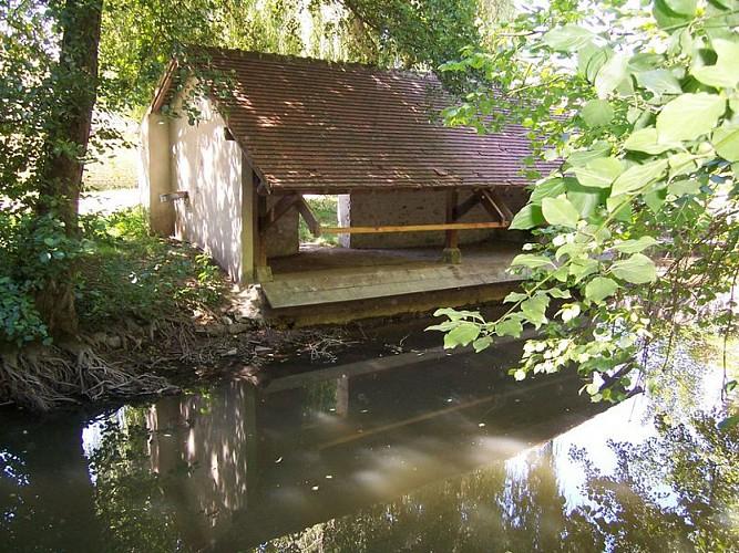 Lavoir à Briarres-sur-Essonne