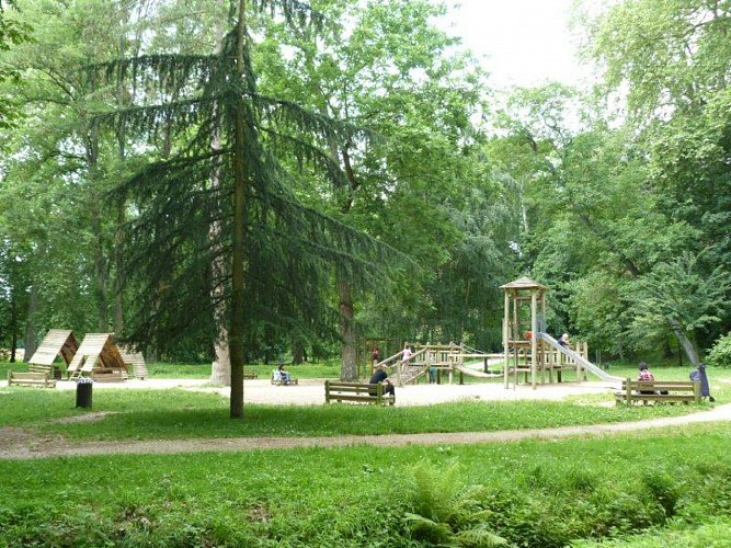 Parcours marche chateauneuf parc naturel d partemental - Piscine de chateauneuf sur loire ...